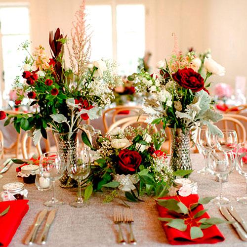 arreglos florales para mesas