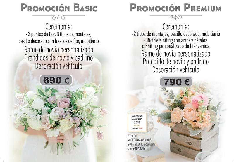 promociones para bodas