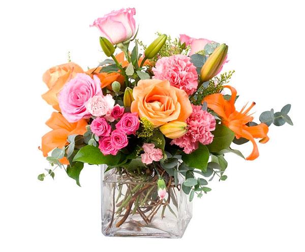 bouquet rustico cristal