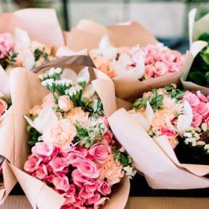 cucurucho sorpresa de flores